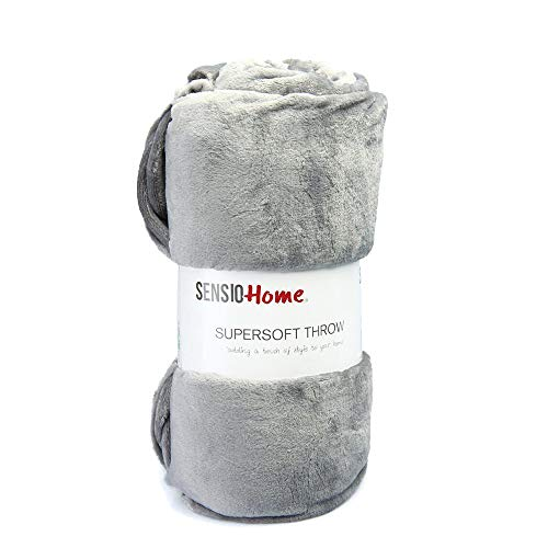 Sensio casa Super suave polar manta [200x 200cm]