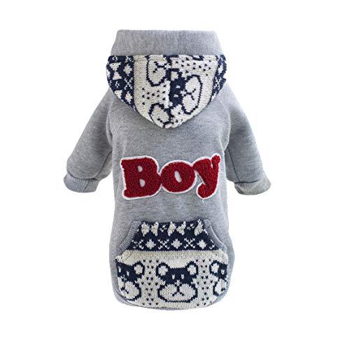 Lisay Weiches Kostüme Frühjahr Herbst Kleidung Haustier Baumwolle Kapuzenpullover Cartoon Komfortabel Kostüme Mini Comfort - Cute Doggy Kostüm