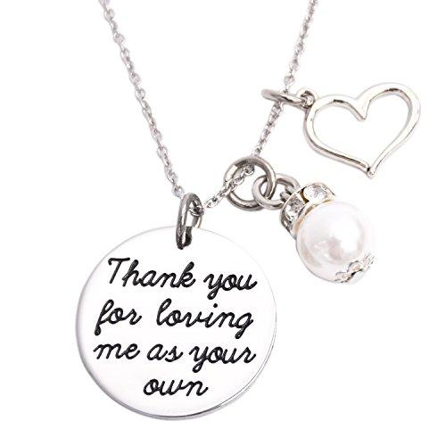 Thank You For Loving Me in Ihrem eigenen Halskette Adoption Schmuck Geschenke Ideen (Halskette)