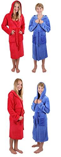Betz Kinderbademantel Bademäntel Jungen Mädchen mit Kapuze - 2