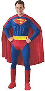 Superman - Disfraz de Superman para hombre, talla M