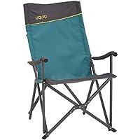 Uquip Campingstuhl Emmy mit Lounge-Charakter, Alu-Gestänge & hohe Rückenlehne