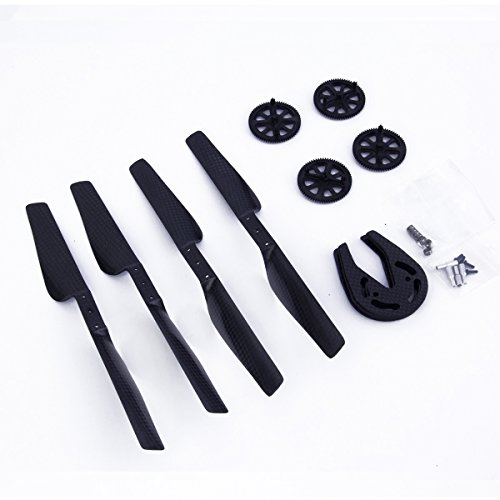 parrot-ar-drone-1-20-part-carbon-fiber-propeller-gears-gear-guard-bearing-carbon-fiber-black-by-lc-p