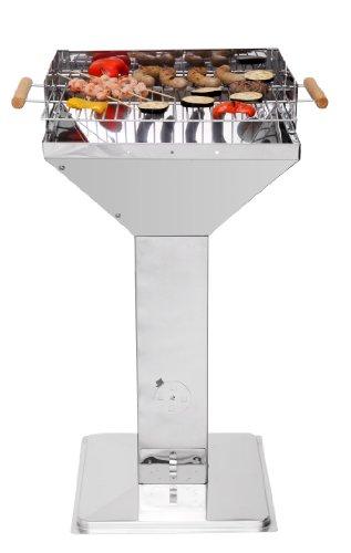 Tepro Standsäule aus Edelstahl, Einheitsgröße