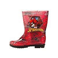 Spiderman Boys Red Wellington Boots
