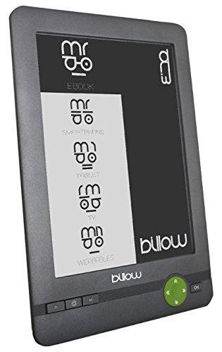 Billow Technology E03FL - Libro electrónico, Gris/Verde
