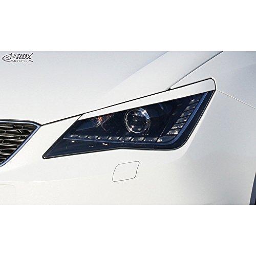 Preisvergleich Produktbild Scheinwerferblenden Seat Ibiza 6J / 6P 2008-2017 inkl. ST & SC (ABS)
