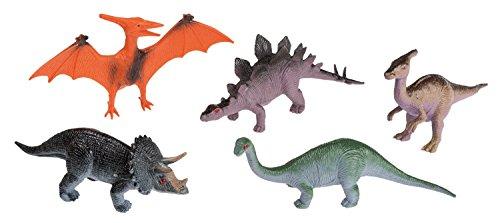 Preisvergleich Produktbild Idena 4325005 - 5 Dinosaurier im Beutel, 10 cm