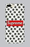 WorldSell Cover Morbida in TPU per iPhone 7-8 Plus, Loghi 139 Supreme Marijuana