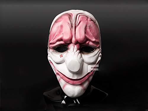 2 für Hoxton Maske für Paintball CS Airsoft Halloween Cosplay ()