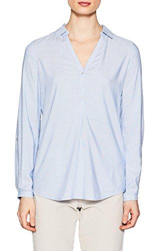ESPRIT Damen 998EE1F800 Bluse, Blau (Light Blue 440), 38