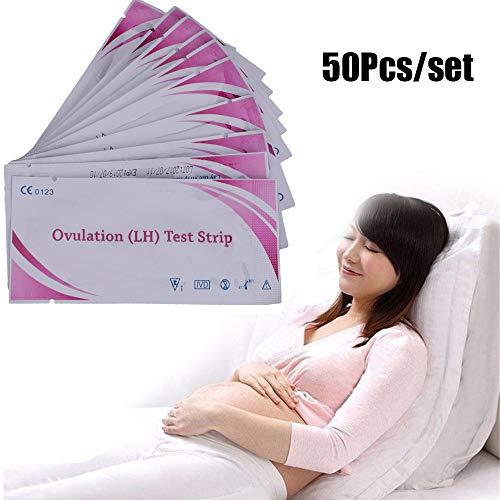 Turbobm 50-teilige Fruchtbarkeits-Ovulationsteststreifen (L H) Frühzeitiger Urintest Papier Fruchtbarkeitstests