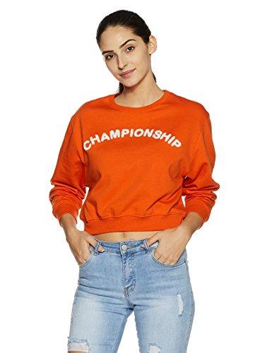 Symbol Women's Sweatshirt (AW17WMRN73_Orange Dale_S)