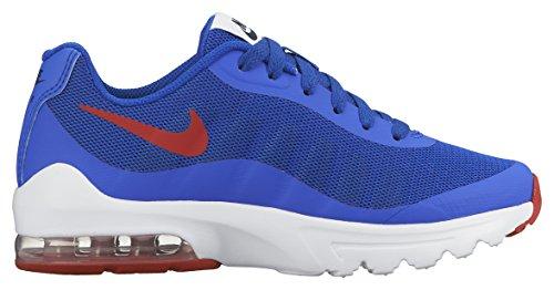Nike Jungen Air Max Invigor (Gs) Laufschuhe Azul / Rojo / Blanco (Rcr Bl / Unvrsty Rd-Obsdn-White)
