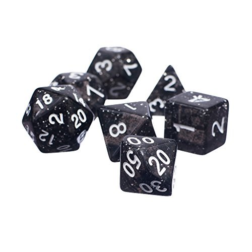 7pcs-set-trpg-game-dungeons-dragons-glitter-d4-d20-multi-sides-dice-6-colors-black