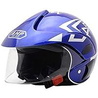gaeruite Casco de Moto niños, Cascos de Bicicleta Unisex Half Harley, 48-52cm