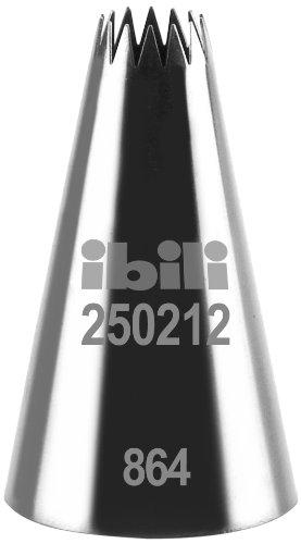 Ibili 250212 Douille de Pâtisserie Forme d'étoile Multi Branche 12 mm