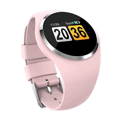 Reloj Inteligente Pulsera elegante de la moda clásica, pantalla a color Pulsera inteligente Espera larga Impermeable Frecuencia cardíaca Presión arterial Sueño Monitoreo Hombres y mujeres sanos Reloje