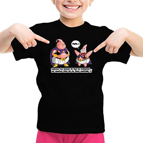 T-Shirts Dragon Ball Z - Bob l'éponge parodique Boubou aka Majin BOU Patrick : Tel père, tel Fils !! (Parodie Dragon Ball Z - Bob l'éponge)