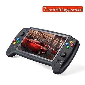 HD 7-Zoll-Handspiel-Konsole Unterstützung Arten Von Emulatoren Max 8-48G 3000 Spiel Doppel Spieler Für GBA NES Retro Spiel-Konsole