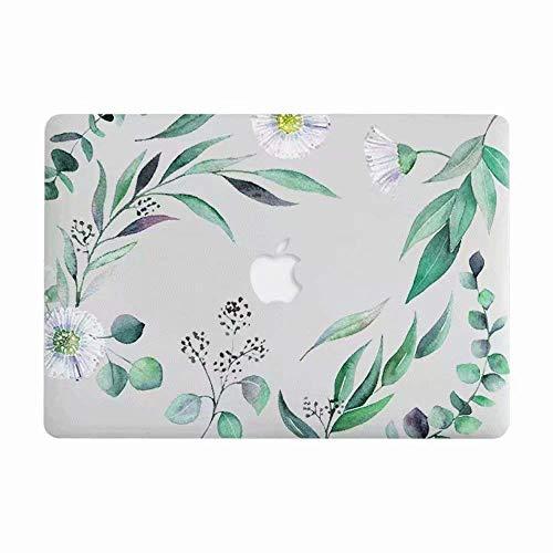 MacBook Air 11-Zoll-Hartschalenkoffer für Modell A1370 / A1465 - AQYLQ Schutzhülle aus mattem, gummibeschichtetem Kunststoff mit glattem Griff - Leaf Leaf Griffe