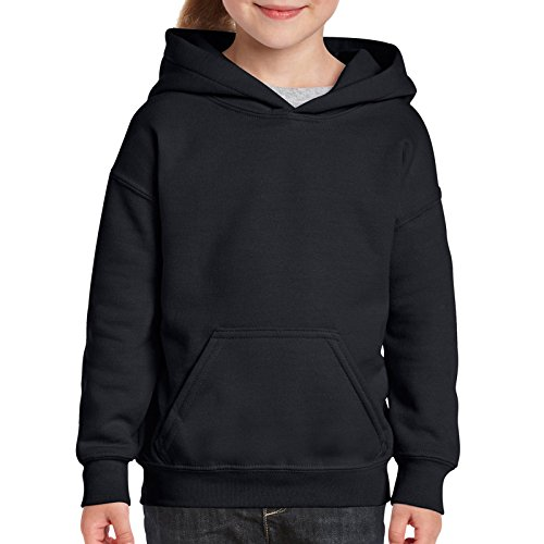 Gildan Heavy Blend™ Youth Hooded Sweatshirt All Colours and Sizes Boys Girls