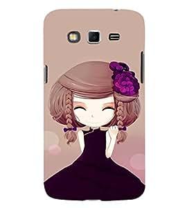 Ebby Printed back cover for Samsung Grand 2 7106(Premium Designer case)