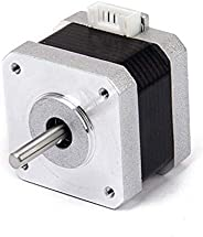 HASTHIP® Nema 17 3D Printer 2-phase 4-wire Stepper Motor for DIY 3D Printer Extruder 1.8 Degree (42 x 42 x 34m