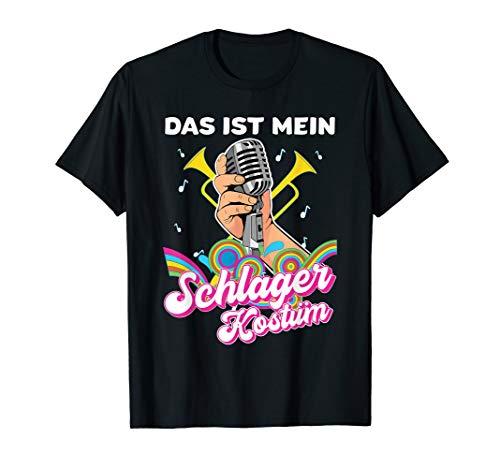 Lustiges witziges Humor Schlager T-Shirt - Kostüm Für Den 50 Jährigen Mann