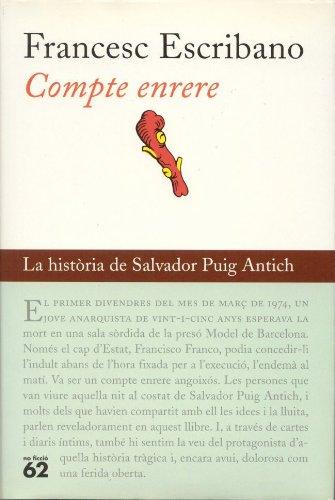 Compte enrere: La història de Salvador Puig Antich (BUTXACA Book ...