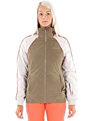 Brunotti Chaqueta de esquí invierno chaqueta chaqueta de nieve jatrani verde resistente al agua caliente, color verde, tamaño M