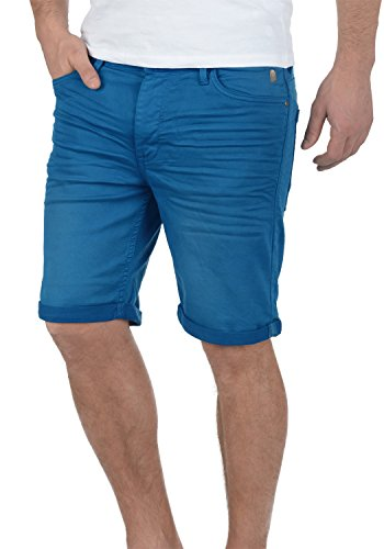 Blend Diego Herren Jeans Shorts Kurze Denim Hose Aus Stretch-Material Slim Fit, Größe:L, Farbe:Nautical Blue (74632) Blue Denim Capri-jeans