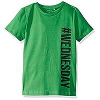 Name It Erkek çocuk Nkmlose Ss Top Box Tişört, Yeşil, 128