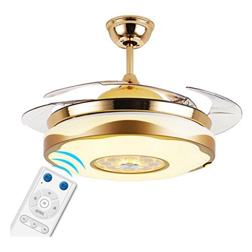 Remote-ventilator Licht-steuerung Und (Wohnzimmer-Deckenventilator-Licht führte unsichtbares Retro- chinesisches Hauptschlafzimmer-einfaches Restaurant-Ventilator-Licht mit Lampen-Ventilator-Leuchter 36 Zoll 42 Zoll-Wand-Steuerung / Fernbedienung Xuan - worth having ( Farbe : Remote Control , größe : 108*46cm 72w ))