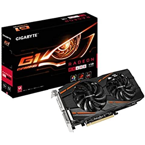 GIGABYTE GV-RX480G1 GAMING-4GD RX 480G1 memoria 4GB