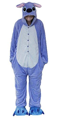 Brinny Adulte Unisexe Ensemble de Pyjama Cospaly Party Fleece Costume Motif Animaux Multicouleur Multi-taille - L