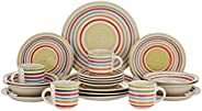 HARMONY 20pcs STONEWARE dinner set