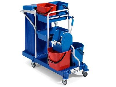 Carrello morgan lavapavimenti e servizi professionale completo.