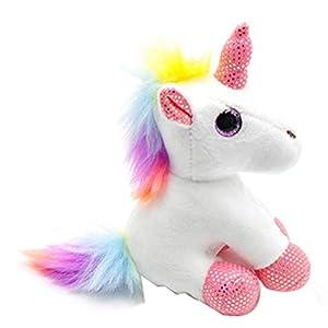 Llavero Colgante Colorido del Unicornio