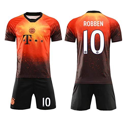 Nike-herren-em-spiel (Fanhemden Bayern München Gemeinsame Fußballanzug Trainingskleidung Schweiß T-Shirt Keep Dry Bequeme Shorts Audience Jersey Fan-Wettbewerb-XL-10)
