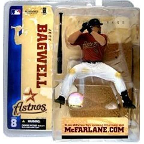 McFarlane Toys MLB Sports Picks Series 8 Action Figure Jeff Bagwell (Houston Astros) Red Jersey by McFarlane Toys - Astro Collezione