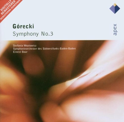 Gorecki : Symphony No 3, 'Symphony of Sorrowful Songs'