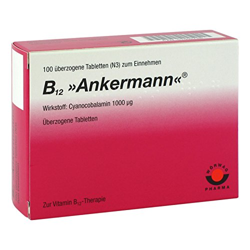B12 Ankermann Dragees, 100 St. überzogene Tabletten -