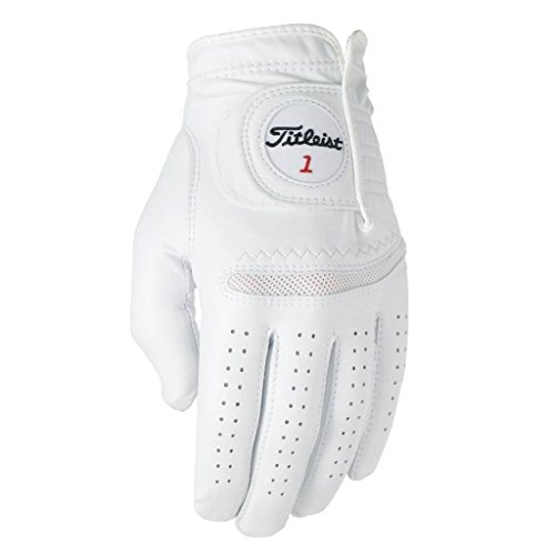 TITLEIST Perma- Soft - Guante, color blanco, talla L