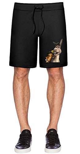 Shrek Puss In Boots And Donkey Shorts XX-Large