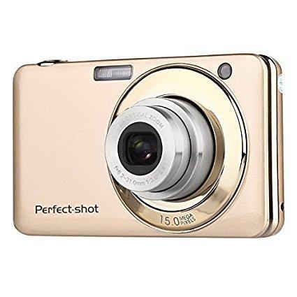 5 - PowerLead gapo G0512,7pulgadas TFT 3x Zoom Óptico 18MP 1280x 720HD cámara de vídeo digital de captura de sonrisa de la vibración