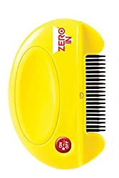 Zero In Flea Killer Comb (Poison-free, Battery Powered Flea & Tick Killer For Use On Cats & Dogs, Kills Adult Fleas, Larvae & Eggs)