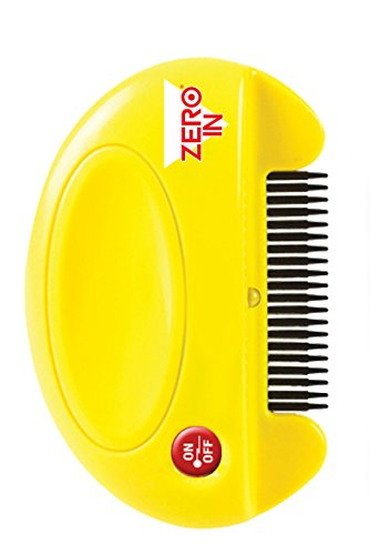 Zero In ZER023 Peigne Antipuces, Multicolore, 3.1 x 15.2 x 22.6 cm