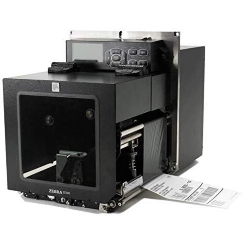 Zebra ZE50043-R0E0000Z TT Printer ZE500 10,2 cm (10,2 cm), Rechtshänder, 300 dpi, Euro/UK, Serial, Parallel, USB, INT 10/100 - Zebra Parallel Kabel