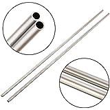 2 x 304 tubo capillare in acciaio inossidabile OD 4 mm ID 3 mm, lunghezza 250 mm